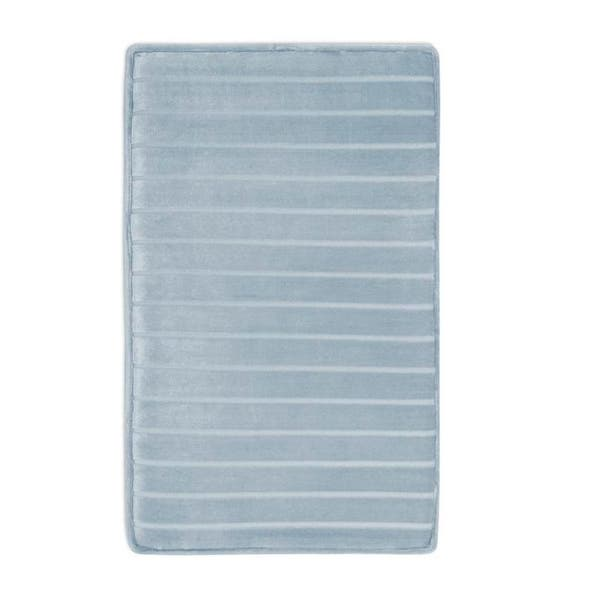 Shop Microdry Softlux Memory Foam Bath Rug With Charcoal Infused