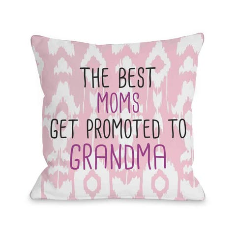 The Best Moms Grandma Pillow by OBC