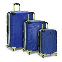 U.S. Traveler Sky High 3-Piece Hardside Spinner Luggage Set