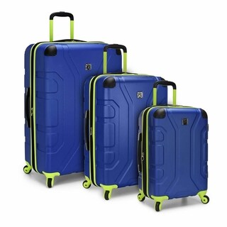 U.S. Traveler Sky High 3-Piece Hardside Spinner Luggage Set