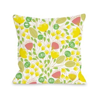 Playful Summer Afternoon - Multi  Pillow by OBC