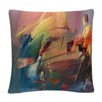 Ricardo Tapia 'Garden' 16 X 16 Decorative Throw Pillow