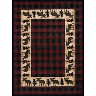 Westfield Home Silko Rafter Multi Area Rug - 5'3 x 7'2