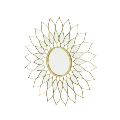 Alioth Glam Wall Mirror by Christopher Knight Home - N/A