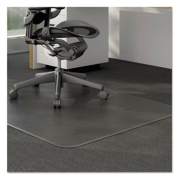 Genial Moderate Use Studded Chair Mat For Low Pile Carpet,46 X 60, RECT,