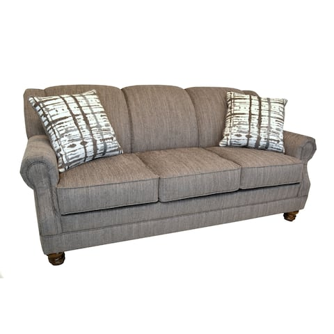 Werner Light Brown Traditional Sofa