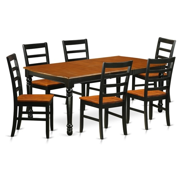 Shop DOPF7-BCH-W 7-Piece Table And Chair Set With One