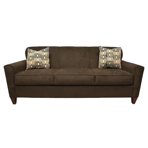 Reuben Chocolate Brown Sofa