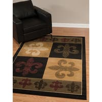 Westfield Home Dutchess Toulouse Olive Accent Rug - 1'10 x 3'