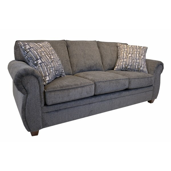 Whitney Grey Fabric Sofa