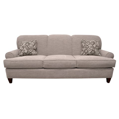 Michaela Traditional Taupe Sofa