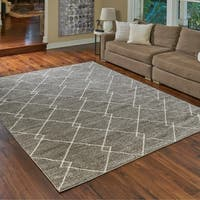 """New Style Lacey Beige Area Rug - 9' x 13'1"""" by Gertmenian"""