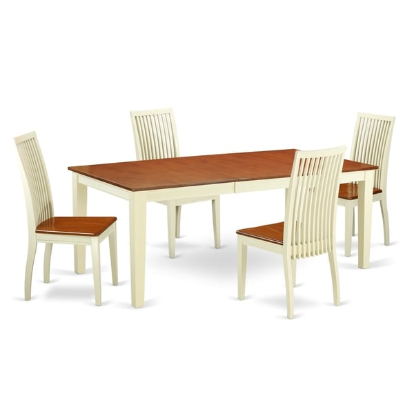 A Table & 4 SolidChairs In