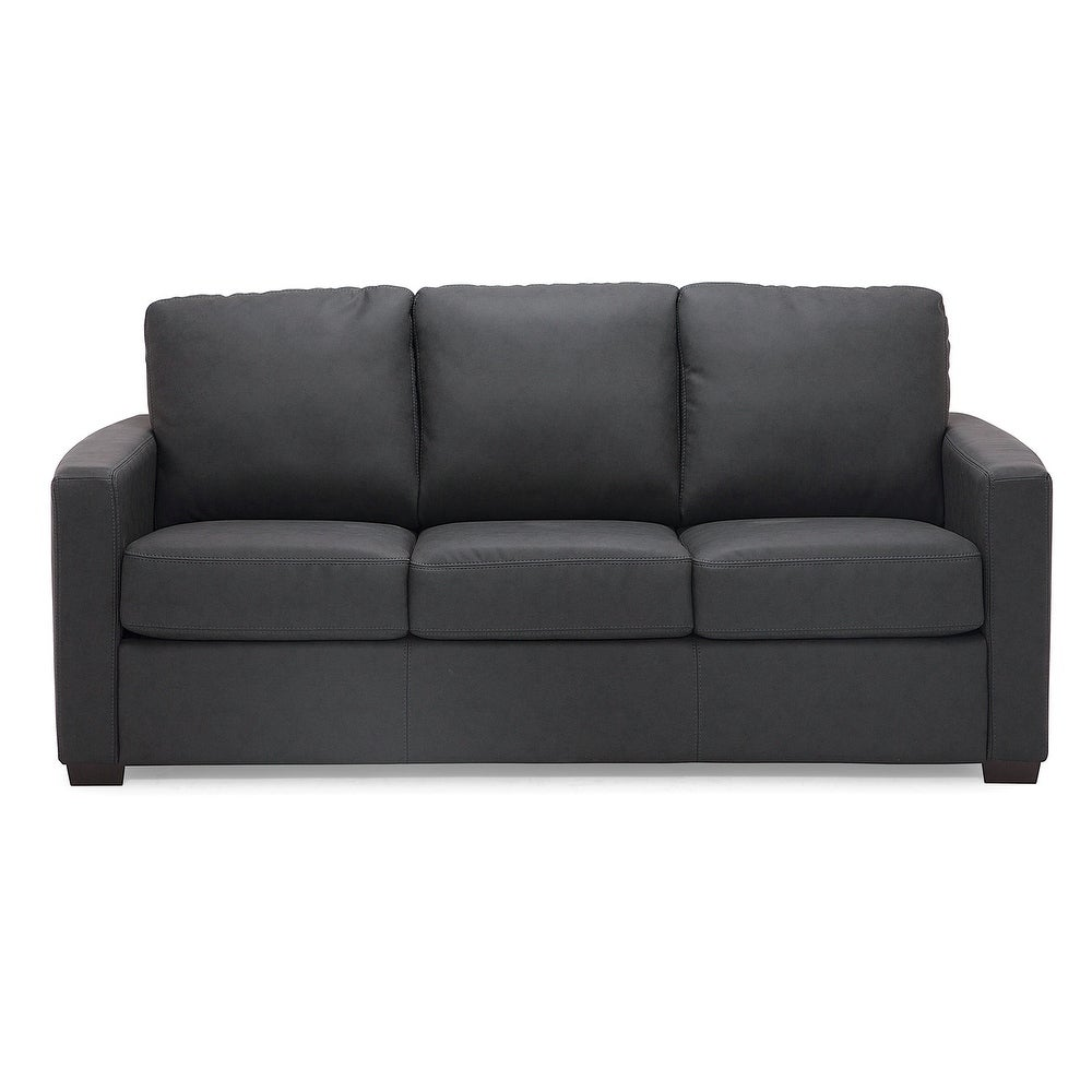 Dossier Faux Suede Sofa Free