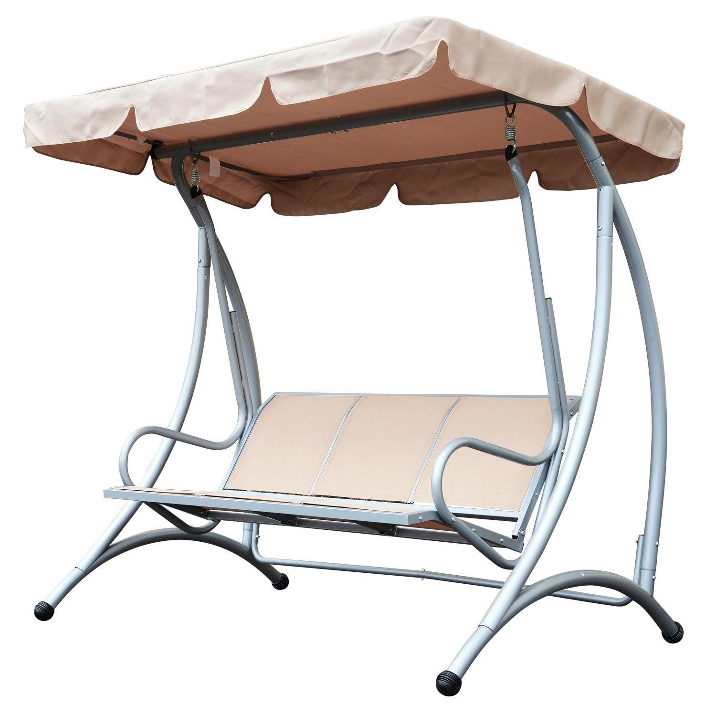 Steel Outdoor Patio Swing Chair