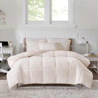 Intelligent Designs Braden Reversible Sherpa to Softspun Flannel Comforter Mini Set (More options available)