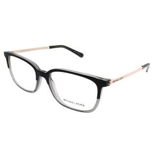 Michael Kors Rectangle MK 4047 Bly 3280 Women Black Transparent Grey Frame Eyeglasses