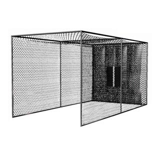 Cimarron Sports 20x10x10 Masters Golf Net with Complete Frame - 10' Poles