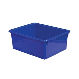 "Wood Designs WD78005 5"" Rectangular Letter Trays - Blue"