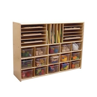 """Contender C14001 Multi Storage with 15 Translucent Trays - 33-7/8""""H"""