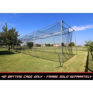 Cimarron Sports 40x12x10 No 24 Polyethylene Batting Cage Net Only