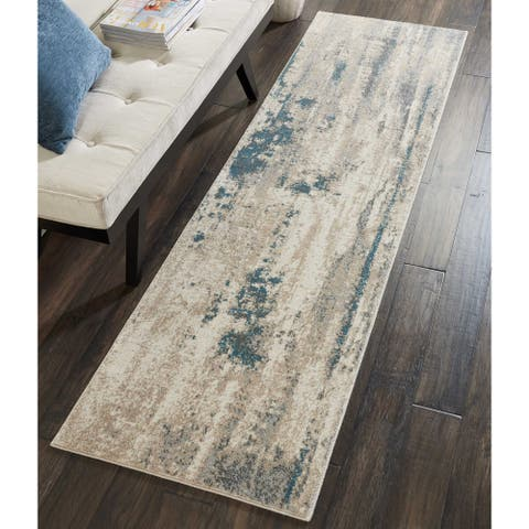 Nourison Maxell MAE17 Abstract Area Rug