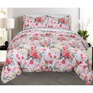 Nouvelle Home Bouquet Cotton Comforter Set - Multi