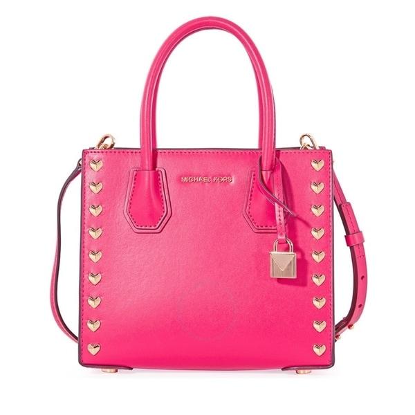 90baaaf88b13 Shop MICHAEL Michael Kors Mercer Medium Ultra Pink Messenger Bag ...