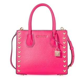 MICHAEL Michael Kors Mercer Medium Ultra Pink Messenger Bag