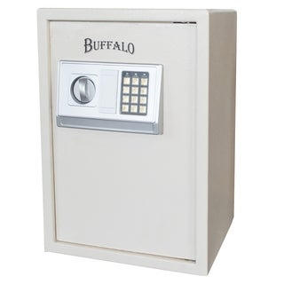 Buffalo Outdoor Electronic Floor Safe - Beige