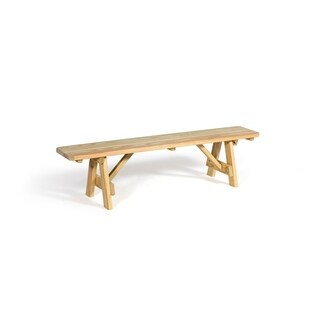 """Pressure Treated Pine 23"""" Traditional Picnic Bench"""