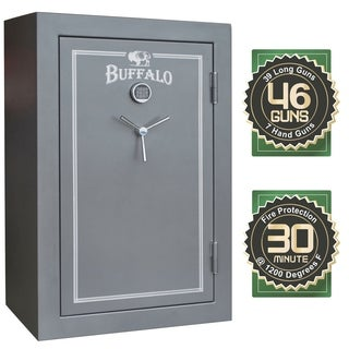 Buffalo 39/7 Electric Lock Fire Resistant Safe with Door Organizer