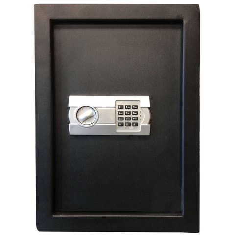 Sportsman Series Wall Safe with Electronic Lock - Black
