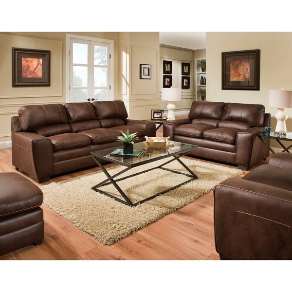 Simmons Upholstery Shiloh Sable Sofa