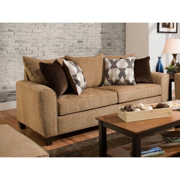 Simmons Upholstery Reed Tan Sofa