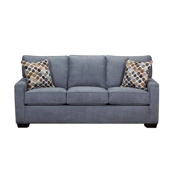 Simmons Upholstery Mia Denim Sofa