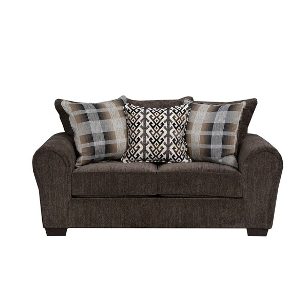 Simmons Upholstery Parks Tiger Loveseat - Free Shipping Today ...