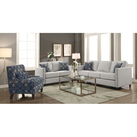 Coltrane Beige 2-piece Living Room Set