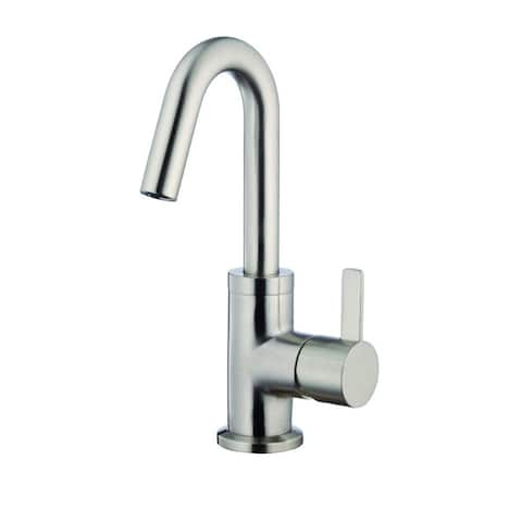 Danze Amalfi Single Handle Lavatory Faucet, 1.2gpm D222530BN Brushed Nickel