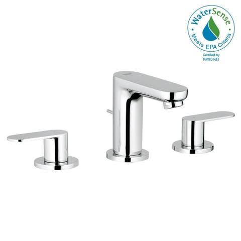 "Grohe Eurosmart Cosmopolitan 8"" Widespread Two-Handle Bathroom Faucet S-Size 2019900A StarLight Chrome"