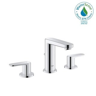 "Grohe Europlus 8"" Widespread Two-Handle Bathroom Faucet S-Size 2030200A StarLight Chrome"