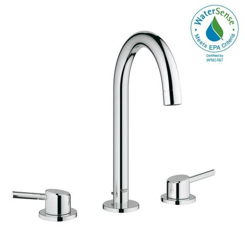 Grohe Concetto L-Size Bathroom Faucet with High Arc Spout