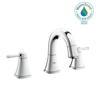 """Grohe Grandera 8"""" Widespread Two-Handle Bathroom Faucet S-Size 2041800A StarLight Chrome"""