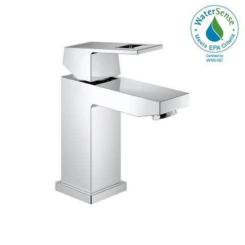 Grohe Eurocube S-Size Bathroom Faucet with Fixed Spout