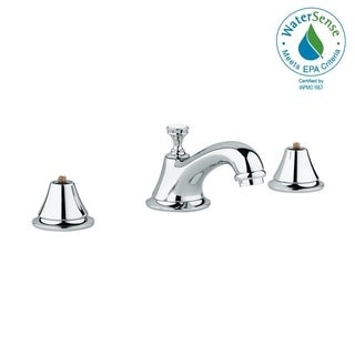 """Grohe Seabury 8"""" Widespread Two-Handle Bathroom Faucet 2080000A StarLight Chrome"""