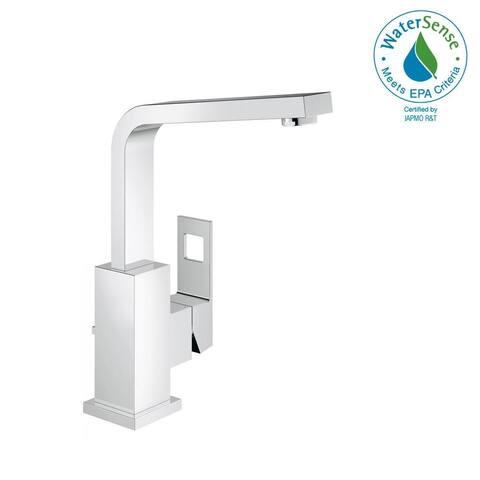 Grohe Eurocube Single-Handle Bathroom Faucet L-Size 2318400A StarLight Chrome