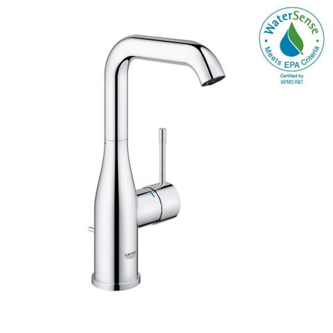Grohe Essence L-Size Bathroom Faucet with Swivel Spout