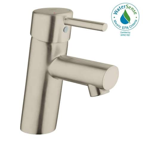 Grohe Concetto Single-Handle Bathroom Faucet S-Size 34271ENA Brushed Nickel
