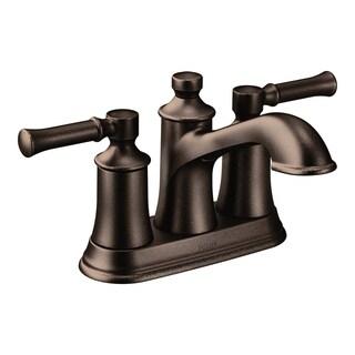 Moen Dartmoor Two-Handle High Arc Bathroom Faucet 6802ORB Oil Rubbed Bronze