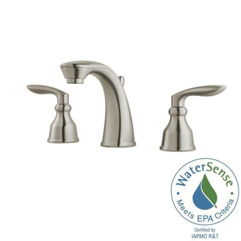 Pfister Avalon Widespread Lavatory Faucet LG49-CB1K Brushed Nickel